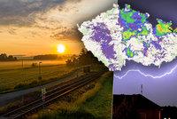 Silné bouřky už bičovaly Ostravsko. O víkendu bude až 30 °C, sledujte radar Blesku