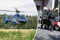 Výtah se třemi lidmi se na Kladensku zřítil do podzemí: Hasiči popsali dramatické momenty u zraněných!