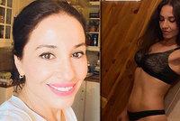 Rakovina jí vzala prsa! Odvážná Kuklová v sexy prádýlku řekla, jak to řeší