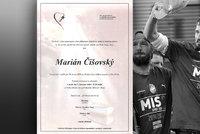 Přímý přenos: Plzeň se v slzách loučí s bojovníkem Mariánem Čišovským