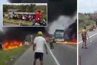 """Lidé si chtěli """"načepovat"""" palivo z cisterny: Po výbuchu jich sedm uhořelo!"""