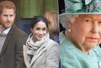 Zase královnu nepotěšili! Harry a Meghan oznámením porodu opět porušili královské tradice