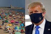 Koronavirus ONLINE: Češi už zase vozí nákazu ze zahraničí. A i Trump nasadil roušku