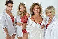 Herečky v čele s Anetou Krejčíkovou se svlékly do spodního prádla: Na věku nezáleží!