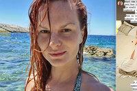 Drama Ivy Pazderkové na dovolené: Dostala záchvat! Zachránila ji kamarádka