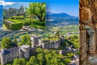 """Zámek, na kterém věznili Markýze de Sade, je na prodej: Luxusní výhled na Mont Blanc jen za """"pár"""" milionů"""