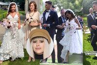 Kýč, extrém a nešťastná volba šatů! Svatbu Patrika Schicka s Haničkou hodnotí módní kritička Blesku Ina T.
