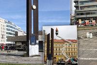 Dominantu pražské Florence opraví: Dvanáctimetrové hodiny by se měly vrátit příští rok