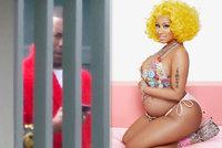 Nicki Minaj oznámila těhotenství! Otcem je ale vrah a sexuální útočník