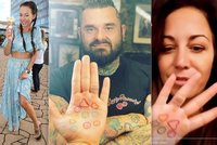 Nové tetování Agáty Prachařové: Odhalila počet svých milenců?!