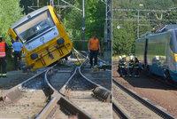 Nehoda vlaku v Lázních Kynžvart: 100 cestujících z Pendolina muselo pěšky!