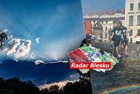 Česko sežehnou supertropy: Ve stínu až 35 °C. Pak dorazí bouřky, sledujte radar Blesku