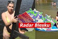ONLINE: Supertropy v Česku: 35 °C a první kolapsy. Dorazí i bouřky, sledujte radar Blesku