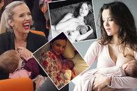 Hvězdy slaví Mezinárodní týden kojení! Kdo všechno se nestydí ukázat prsa?