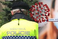 Koronavirus u Městské policie v Praze: Čtyři nakažení, 32 strážníků je v karanténě
