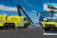 Pražské letiště chrání hasičský unikát za 27 milionů! Vidět ho můžete přímo na dráze v Runway Parku