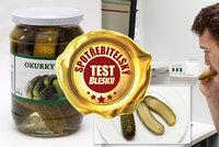 Test nakládaných okurek šokoval: Laboratoř odhalila zakázaný pesticid!