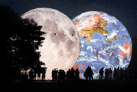 Měsíc bude na dosah Země: Brněnská hvězdárna nefoukne obří modely vesmírných těles