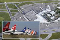 Rozšiřování pražského letiště. Hluk a chybějící doprava: Město uvedlo argumenty, proč by se zvětšovat nemělo
