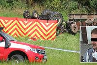 Tatínek dvou dětí Richard (†34) zemřel při nehodě traktoru u Olešky: Lidé přispívají na jeho rodinu