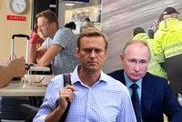 Putinův kritik Navalnyj v bezvědomí: Otrava jedem v čaji? Manželka je mu už na blízku