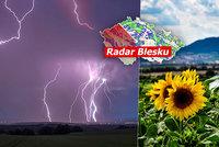 V Česku tepleji než u moře. Supertropy přinesou až 36 °C. Vedra protnou bouřky, sledujte radar Blesku