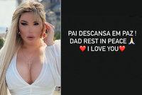 Přeoperovaná Barbie Jessica Alvesová truchlí: Smrt otce, který ji chtěl vydědit!