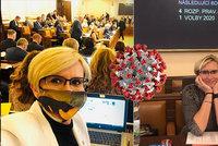 Nakažená exministryně: Koronavirus má i Šlechtová, v karanténě několik poslanců