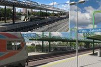 Železniční stavba desetiletí v Praze bude brzy hotová! První čtyřkolejná trať v Česku spojí hlavák a Hostivař