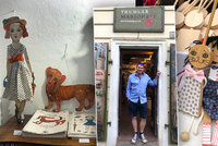 """Obchod s loutkami na Malé Straně po 27 letech končí, semlel ho koronavirus. """"Konečně se vyspím,"""" říká loutkář Pavel"""