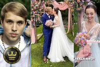 Nejslavnější český youtuber Jirka Král se oženil: Barevná svatba dva měsíce po zásnubách!