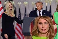Otevřená nenávist u Trumpových: Pohled první dámy na Ivanku mluví za vše
