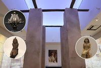Miliardová výstava prodloužena! Sluneční králové zůstanou v Národním muzeu do konce září