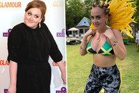 Adele se po brutálním zhubnutí ukázala v bikinách! A hned to schytala
