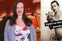 """Kristýna Leichtová a její další šokující foto: """"Selfie"""" 18 minut před porodem dcery!"""