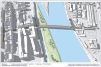 Praha vypíše architektonickou soutěž na Rohanský most. Kudy povede? Ve hře je několik variant