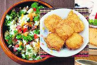 Jak využít zbytky uvařené rýže? Vyzkoušejte lahodný nákyp, salát i placičky!