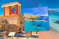Řecký ostrov Kréta: Nejkrásnější pláže Evropy, hory i výborné jídlo