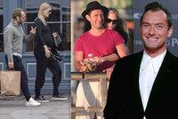 Plodný hollywoodský fešák Jude Law: Stal se pošesté tatínkem!