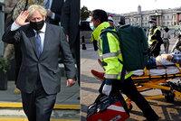 Uzavření země až do jara děsí Brity: Půl roku izolace? Johnson připustil tvrdé restrikce