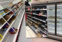 Vykoupené konzervy, mražené potraviny i toaleťák: Britové panikaří z druhé vlny, Češi ne
