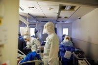 Dramatická předpověď pro české nemocnice: V těžkém stavu bude tisíc lidí ještě v říjnu