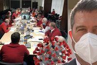 Hamáček po jednání Ústředního krizového štábu: Nejhorší scénář se nenaplňuje