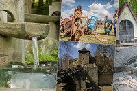 10+1 tip na výlet do přírody: Zázračné studánky, po stopách Hrabala i do Země Keltů