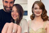 Pánové, plačte: Herečka Emma Stoneová se tajně vdala! Na cestě je prý i dítě!
