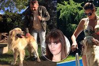 Ornelle při procházce s kočárkem srazilo auto psa. Zmatené zvíře ji pak kouslo!