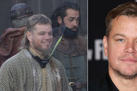 Matt Damon natáčí historické drama v době covidové: Co to máš na krku, zbrojnoši?!