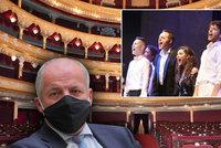 """Prymulův """"zákaz zpěvu"""" dusí divadla: Milionové ztráty a pokles prodejů vstupenek"""