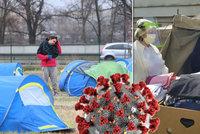 Koronavirus se šíří mezi bezdomovci. Sociální organizace zoufale shání testovací sady