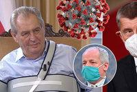 Koronavirus ONLINE: Prymula tepal Čechy, Babiš přijal pomoc. A vláda požádá o delší nouzový stav